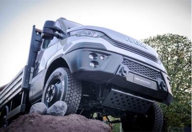 Представлен обновленный полноприводный грузовик IVECO Daily 4x4