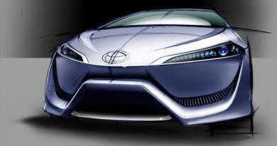 Toyota FCV-R Concep — революция экологически чистых авто от Тойота
