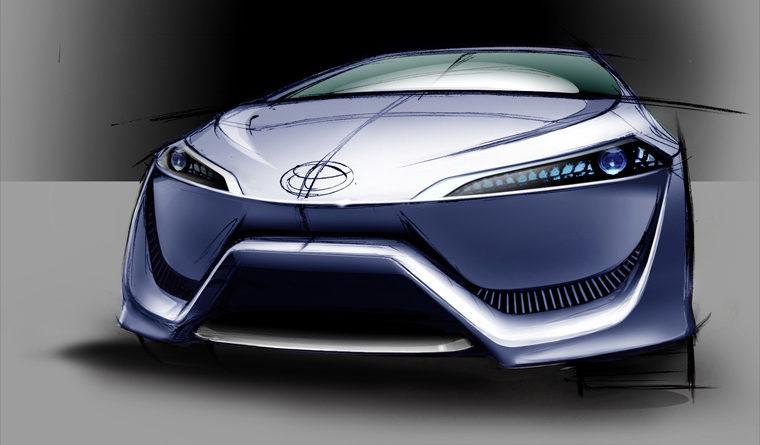 Toyota FCV-R Concep - революция экологически чистых авто от Тойота