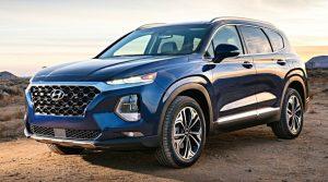 Hyundai Santa Fe: яркий и безопасный