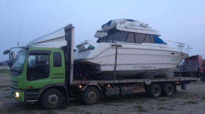 Перевозка катеров и лодок эвакуатором в Сургуте