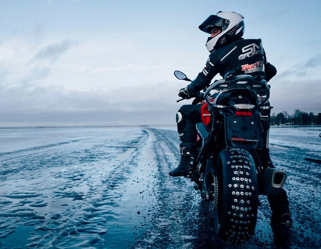Зимняя резина на мотоцикл